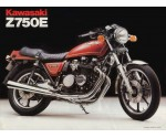 Kawasaki KZ750LTD kmtellerkabel