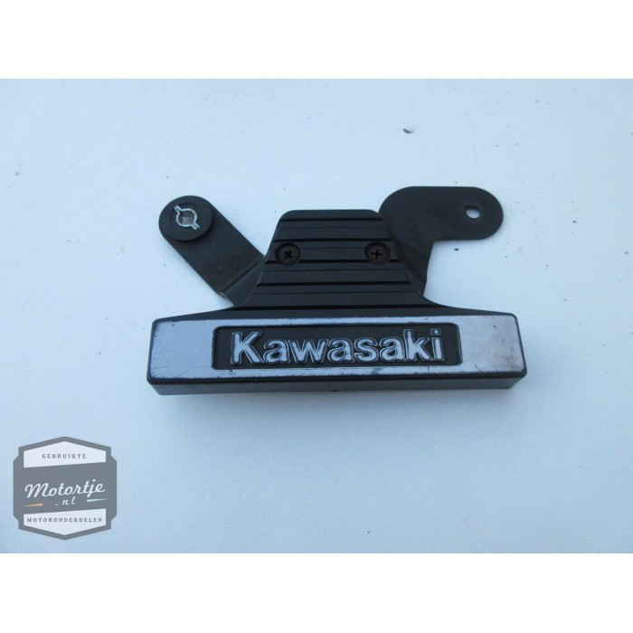 Kawasaki LTD450/455 voorvorkembleem / vorklogo / sierplaat