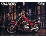 Honda VT700C Shadow